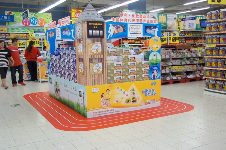 超市商品美陈制作